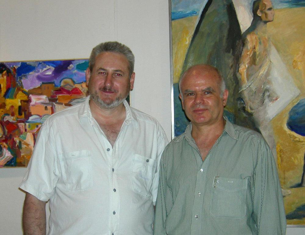 Андрей Кулагин, художник, с Тартаковским