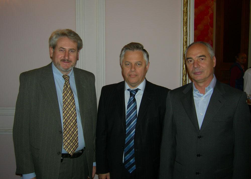 Андрей Кулагин, художник, с Петром Симоненко