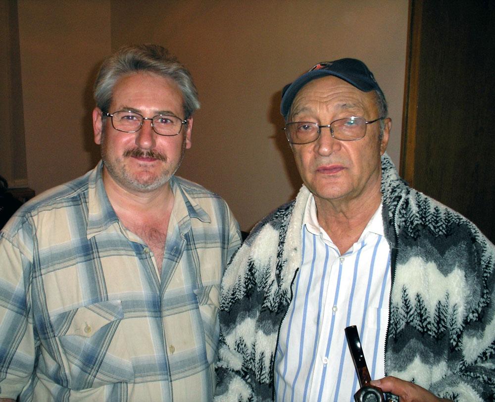 Андрей Кулагин, художник, с Михаилом Казаковым